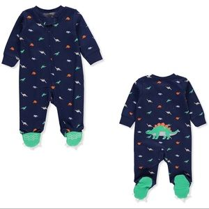 New Preemie Dino footsie